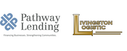 Pathway Lending and Livingston Logistic logos